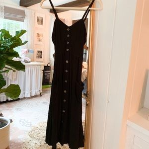 Nordstrom Button Front Dress